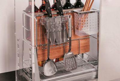 Chia sẻ kinh nghiệm mua phụ kiện tủ bếp bạn nên biết