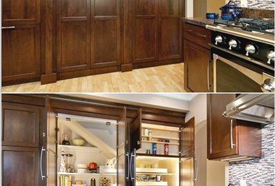 So sánh tủ bếp nhựa và tủ bếp gỗ