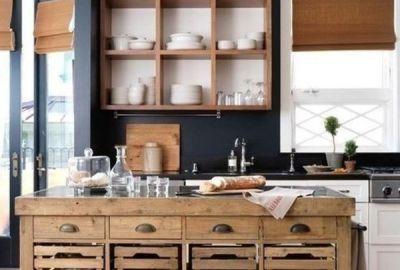 Biến tấu tủ bếp bằng gỗ theo phong cách hiện đại vừa đẹp vừa sang