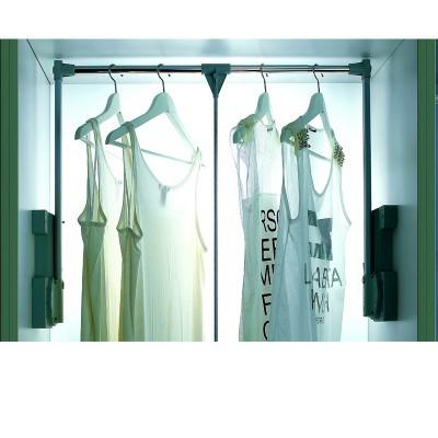 Giá treo quần áo có tay kéo inox cao cấp