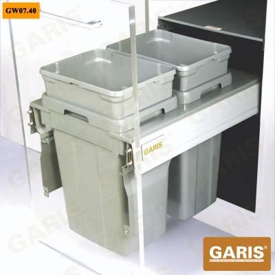 Thùng rác 2 ngăn GW07.40